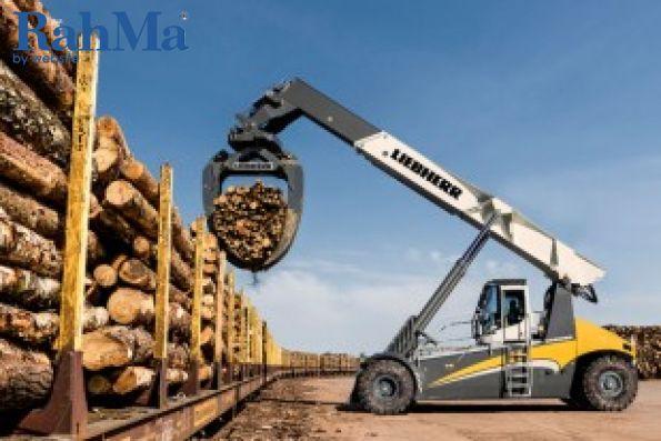 هندلر تنه درخت لیبهر برای اولین بار در Bauma 2019 نمایش داده می شود