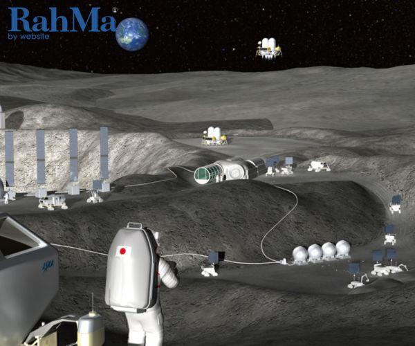 آیا اعزام ناوگان رباتیک ساخت و ساز به کره ماه برای فضانوردان امکان پذیر است؟