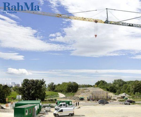 معرفی جرثقیل قائم لیبهر با 65.5 متر ارتفاع قلاب