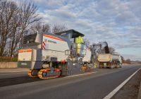 ویرتگن ماشین آلات بزرگ آسفالت تراش سری F خود را معرفی می کند