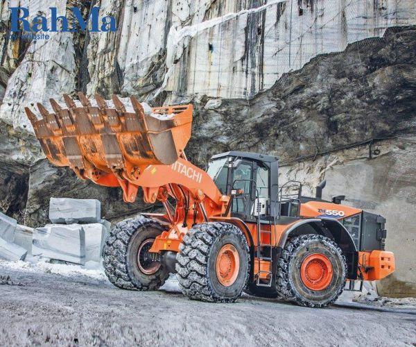 هیتاچی لودر جدید ZW550-6 خود را برای سخت ترین و سنگین ترین برنامه ها طراحی کرده است