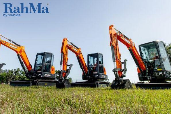 بیل های مکانیکی دوسان DX35-5، DX42-5 و DX50-5