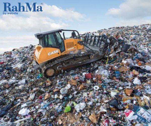 بلدوزر دفن زباله Case مدل 2050M