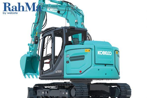 بیل مکانیکی چرخ زنجیری کوبلکو مدل SK75SR-7 در حال حاضر در سایت های کار مستقر است