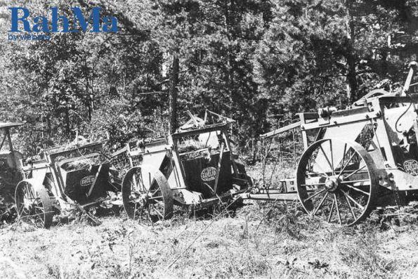 ماشین شخم زنی اقلیدس در دهه 1930