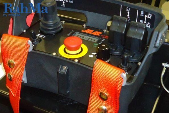 کنترل بی سیم بوم های تله هندلر JLG از بیرون کابین